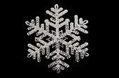 Snowflake Black