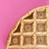 Waffle Close Up