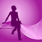 Fashion Girl Silhouette