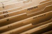Cardboard Filing System Personal