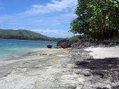 View Down Beach