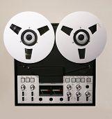 Retro Open Reel Tape Deck