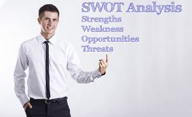 stock photo of swot analysis  - SWOT Analysis  - JPG