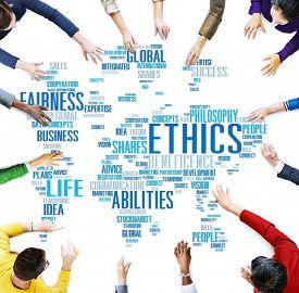 foto of moral  - Ethics Ideals Principles Morals Standards Concept - JPG