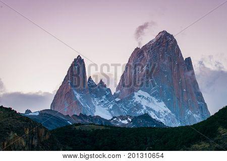 Landscape of rocky