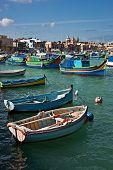 Fishing village Marsaxlokk, Malta