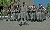 Parade of the French legionaries the 30th April 2011 in Laudun in France