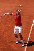 Roger Federer (sui) At Roland Garros 2011