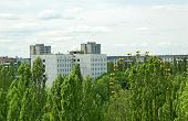 Lost city Pripyat, Chernobyl region
