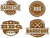 Barbeque BBQ-Stempel