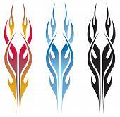Hot Rod Flame Tattoo
