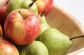 Fruit close up studio photography .