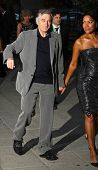 NEW YORK - APRIL 20: Actor Robert DeNiro and Grace Hightower arrive at New York State Supreme Court