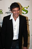 NEW YORK - APRIL 21: Actor Antonio Banderas attends the 2010 TriBeCa Film Festival opening night pre