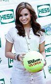 FLUSHING, NY - AUGUST 28: Singer Demi Lovato attends Arthur Ashe Kids' Day at the Billie Jean King National Tennis Center on August 28, 2010 in Flushing, New York.