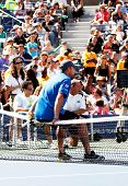 FLUSHING, NY - AUGUST 28: Tennis athlete Andy Roddick attends Arthur Ashe Kids' Day at the Billie Jean King National Tennis Center on August 28, 2010 in Flushing, New York.
