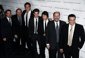 NOVA YORK - 11 de janeiro: Dana Brunetti, Kevin Spacey, Armie Hammer, Andrew Garfield, Jesse Eisenberg atten