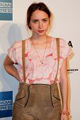 NEW YORK - APRIL 20: Zoe Kazan attends the opening night premiere of
