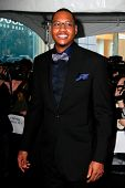 NEW YORK - APRIL 26: Knicks forward Carmelo Anthony attends the Time 100 Gala for the 100 Most Influ