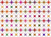 diamonds and shapes background