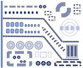 elements and shapes vector for your designs (see sries)