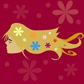 ilustração infantil flor
