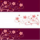 filigree floral vector