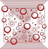 plano de fundo do círculo e listra