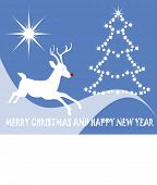 nondemonational christmas card with greeting