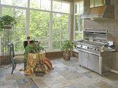 Luxury Home Patio