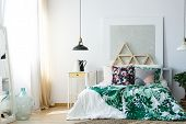 Comfy Bedroom With Soothing Colors poster