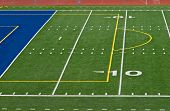 Ten and Goal Football Field