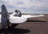 American At-6 Texan Plane