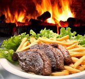 oven steak