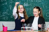 Little Children. Science. Chemistry Science. Biology Experiments With Microscope. Lab Microscope And poster