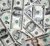 American Dollars Close Up
