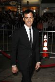 LOS ANGELES, CA - FEB 16: Justin Theroux at the premiere of Universal Pictures' 'Wanderlust' held at