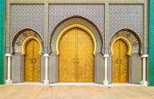 Amazing Architecture Of Entrance Gates In Fes, Morocco poster