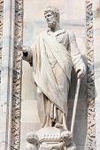 Saint Justin Statue