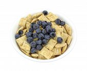 Cereal And Wild Blueberries
