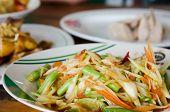 Spicy Salad Thai Food poster