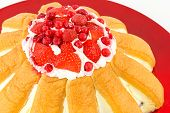 zuccotto strawberry