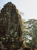 High tower of the temple complex of Angkor Wat
