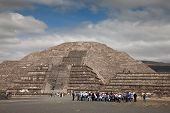 Pyramid Of The Moon In Teotihuacan, Mexico