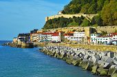 SAN SEBASTIAN, SPAIN - NOVEMBER 15: Paseo del Muelle, on November 15, 2012 in San Sebastian, Spain.