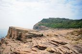 Strang Geological Formation In Tung Ping Chau In Hong Kong