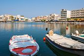 View Of Agios Nikolaos. Crete, Greece