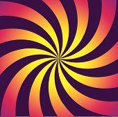 Gradient Swirl With Vivid Colors
