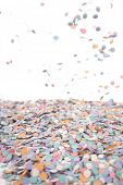 Confetti for party background