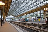 stock photo of gare  - old railway station in Tours - JPG